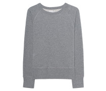 Sweatshirt mit Aufschrift  // London Heather Grey