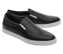 Leder-Slip-Ons  // Sneaker Tux Nero