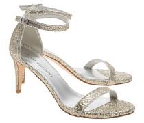 Sandalette mit Glitter-Verzierung  // Nunaked Glitter