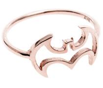 14k Roségold-Ring