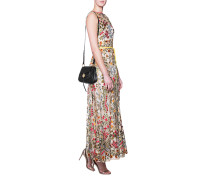 Kleid mit floralem Print  // Flower Embroidery Waistband Multicolor