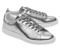 Sneakers mit Metallic-Finish  // Stan Smith Boost Silver