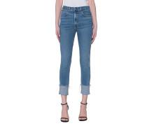 High-Waist Skinny Jeans  // Lou Blue Hill