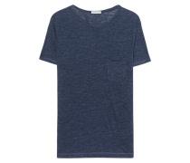 Leinen T-Shirt  // Marlon Blue