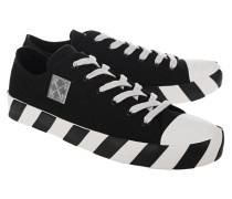 Flache Sneaker mit Schnürung