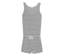Jersey Stripe Jump Grey