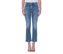 Kick Flare Jeans  // Fleetwood Crop High Rise Flare Pacifica