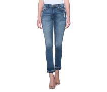 Destroyed Skinny-Jeans  // Halle Modfit Blue