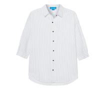 Poets Shirt Ink Stripe