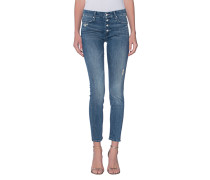 Skinny-Jeans im Destroyed-Finish  // The Pixie Graffiti Girl