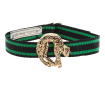 Choker Panther Gold Green
