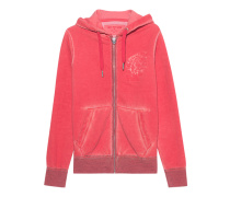 Hooded Zip Jacket Indian True Red