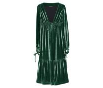 Samt-Midi-Kleid  // Velvet  Green