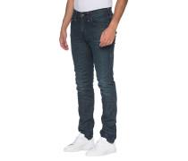 Relaxed Slim-Fit Jeans mit Ziernähten