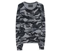 Sweatshirt mit Camouflage-Muster  // Crew Sweat Relax Black