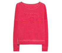 Sweater mit Stickerei  // Crew Artwork Red