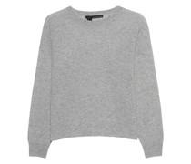 Kurzer Kaschmir-Pullover