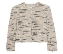 Tweed-Blazer mit Wolle-Anteil