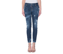 Destroyed Skinny-Jeans  // Cool Girl Jean