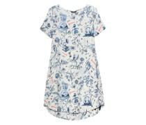 Gemustertes Leinen-Kleid