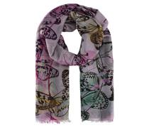 Schal mit Schmetterling Print