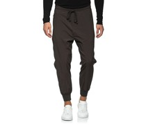 Low-Crotch Nylon-Jogginghose