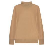 Rollkragen-Pullover aus Feinstrick