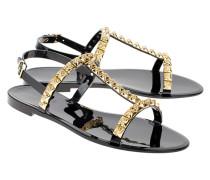 Sandale mit Nieten