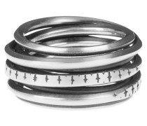 Sterling-Silber-Ring  // Wound Marks Silver
