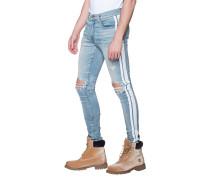 Slim-Fit Destroyed Jeans