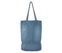 Große Tasche aus Denim  // Market Cali Blue