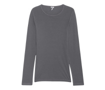 Schmales Jersey-Longsleeve  // One And One Long Riverrock