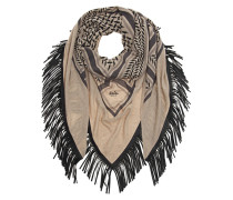 Triangle Trinity Special Fringed Scarf
