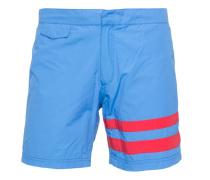 Bunte Badeshorts  // Blue Stripe