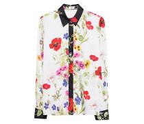 Bluse mit Blumen-Motiv