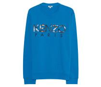 Baumwoll-Sweater  // Hawaii Logo Blue