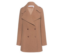 Woll-Mix-Mantel im Retro-Look  // Manteau Camel