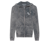 Hooded Zip Jacket Moonwash Castle Rock