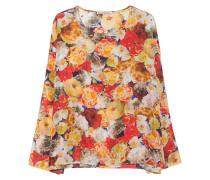 Seidenbluse mit floralem Print  // Brenna Flower Multi