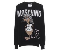 Schurwoll-Feinstrickpullover  // Capsule Rat Black Shirt