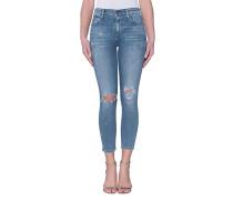 Destroyed Skinny-Jeans  // Rocket Skinny DIstressed Fizzle