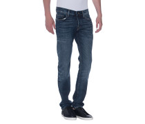 Cleane Relaxed-Skinny-Jeans  // New Rocco Cobalt Blue