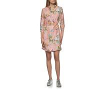 Florales Leinen-Hemdkleid