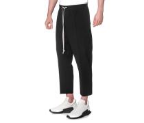 Knöchellange Baumwollhose  // Ankle Cut Black