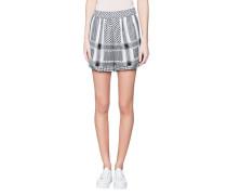 Baumwoll-Shorts mit Muster