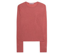 Meliertes Longsleeve  // Classic Cropped Long Sleeve Pink