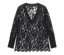 Lace Shirt Black