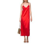 Träger-Kleid aus Seide