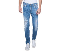 Destroyed Slim-Fit-Jeans
