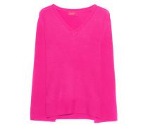 Kaschmir-Pullover  // V Neck Cashmere Neon Pink
